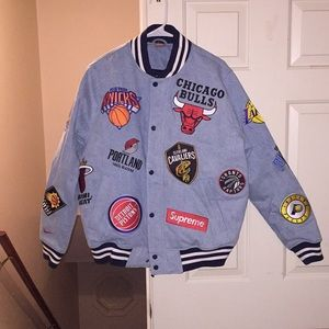 NBA NIKE SUPREME WARM UP JACKET (NEW)